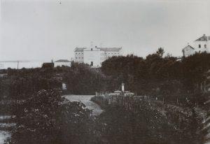 Bilden visar Västerås länsfängelse slutet av 1800-talet.